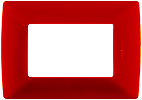 Placa rojo