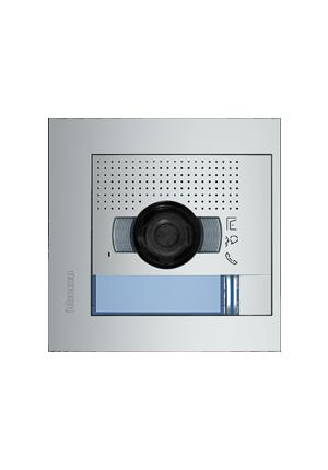 Frente de calle con Audio o Video con cámara orientable para casas.