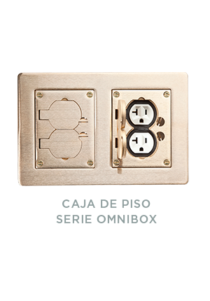 CAJA DE PISO SERIE OMNIBOX