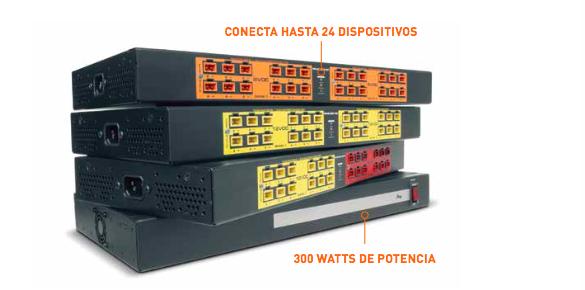 Distribución de alta capacidad de bajo voltaje