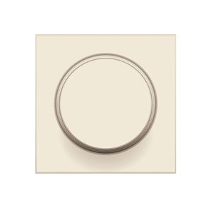 Dimmer rotativo universal 2 mód. 100-240 V~, color marfil.