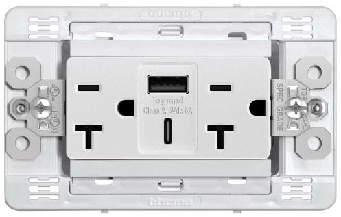 Tomacorriente Duplex USB A+C