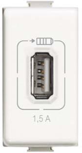 Cargador USB Tipo A, 1.5 A, 1 módulo
