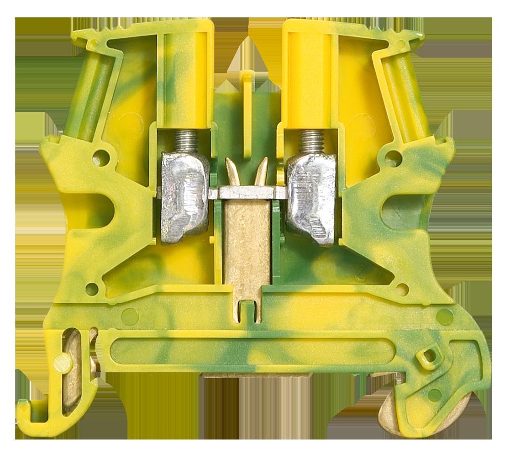 Clema verde amarela