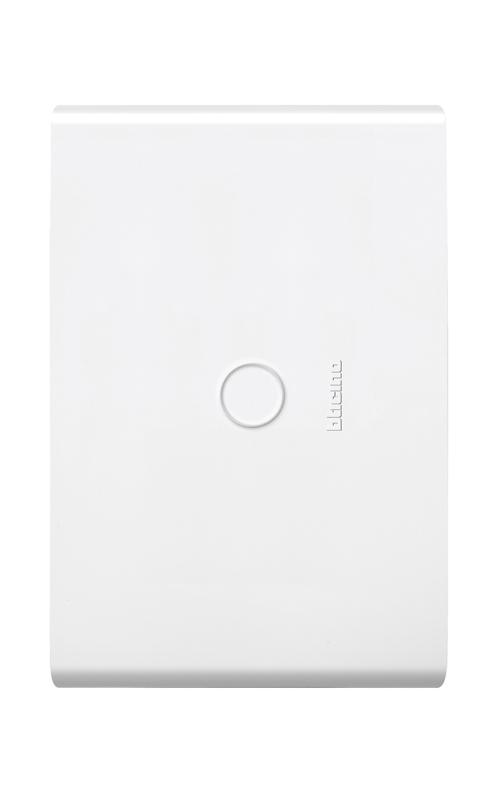 Placa Restyle color blanco
