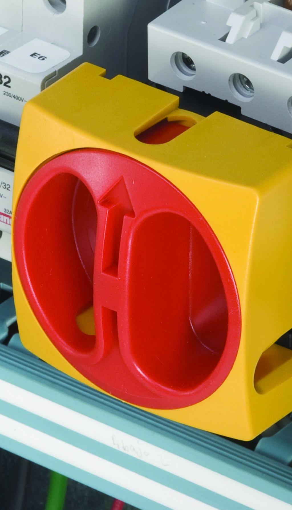 Interruptor seccionador rotativo
