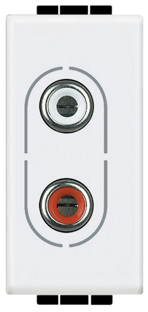 Conector RCA doble
