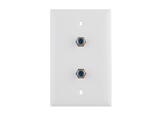 Wall Plates - Premolded Voice/Video